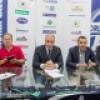 Orlandina calcio : presentati il direttore generale Paolo Arcivieri e il responsabile dell'area tecnica Nello Spampinato . Annunciato l' acquisto del Ghanese Kofi Takyi