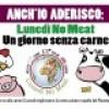 """Capo d' Orlando sabato presentazione dell' iniziativa """"Lunedì no meat – niente carne per un giorno"""""""