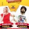 """""""Cabarettando a Capo d' Orlando """" :  Sabato 07 febbraio al Cineteatro si esibiranno  i comici Alberto Farina e Barbara Foria"""