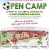 """Capo d' Orlando : """" Open Camp""""  , campi di calcetto gratis per gli Under 14"""
