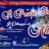 """Capo d' Orlando continuano gli appuntamenti delle manifestazioni natalizie """"Il Presepe Siciliano & il Villaggio di Natale"""".Ecco l' elenco fino al 06 gennaio"""