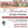 Capo d' Orlando : Nel weekend diversi eventi in programma.  Nell' isola pedonale mercatino dell' artigianato
