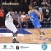 Brutta sconfitta dell' Orlandina Basket a Bologna. Domani impegno in Turchia per i  Biancoazzurri
