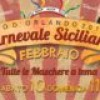 """Capo d' Orlando . Dall' 8 al 13 Febbraio """" Il Carnevale Siciliano"""""""