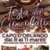 Capo d' Orlando : Ritorna la festa del Cioccolato. Dall' 8 all' 11 marzo nell' Isola Pedonale