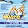 A Capo d' Orlando nel weekend la Festa del Mare. Tre giorni di degustazioni , tradizioni  e Musica.