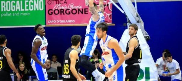 Basket serie A2 : L' Orlandina batte Bergamo e lascia l'ultima posizione